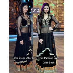 Kmozi Daisy Shah Anarkali In Set On Dance India Dance, black