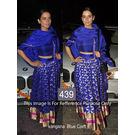Kmozi Kangana Craft Designer Lehenga Choli, blue