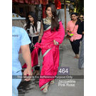 Kmozi Jacqueline Rose Latest Designer Saree, pink