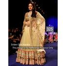 Kmozi Sridevi Gold Designer Lehenga Choli, gold