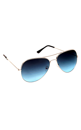 6By6 Blue Metal Aviator