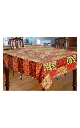 Luk Luck Dining Table PVC Cover-Mixed Frutis(4 Seater)