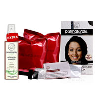 Pure Naturals Soft Black 100% Natural Hair Color Kit