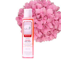 Rustic Art Organic Rose Body Wash - 200 ml