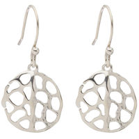 Ada Handcrafted Jewellery Round cutwork Earring AE-2513.2