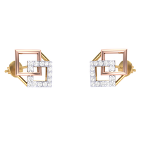 EARRING (LJER0027), 14k, hi-vs/si