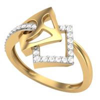 RING (LJRG044), 10, 14k, hi-vs/si
