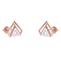 EARRING (LJER0045), 14k, hi-vs/si