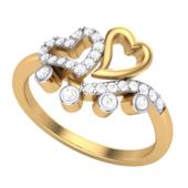RING (LJRG026), 19, 14k, hi-vs/si
