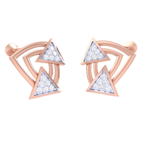 EARRING (LJER0394), 18k, hi-vs/si
