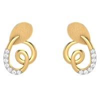 EARRING (LJER0105), 14k, hi-vs/si