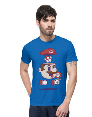 Mario and Mushrooms Forever, s,  limoges blue