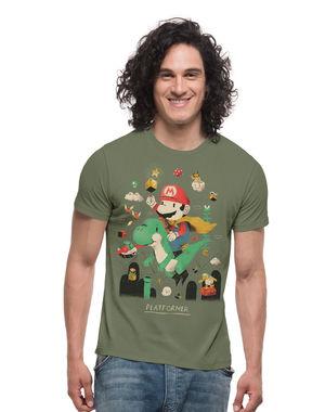Super Mario & The Green Barney, l,  clover green