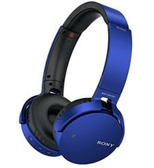 SONY J BLUETOOTH HEADPHONE EXTRA BASS,  blue