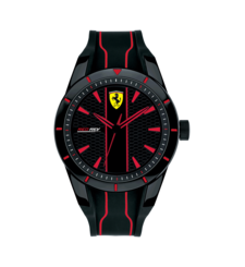 FERRARI WATCH RED,  red