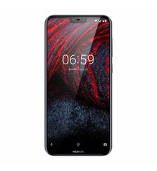 NOKIA 6.1 PLUS 64GB 4G DUAL SIM,  black