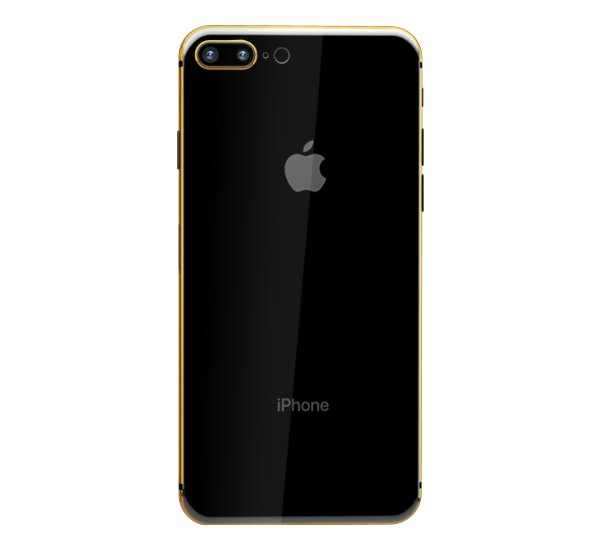 APPLE IPHONE 8 PLUS 24K GOLD PLATED, 256 gb