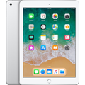 NEW APPLE IPAD 9.7 INCH 2018,  silver , 4g lte, 128gb