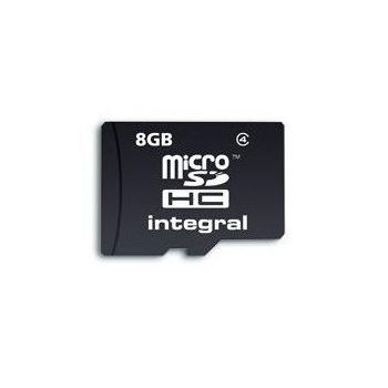INTEGRAL 8GB MICRO SD NO ADAPTOR IN RETAIL PACKING