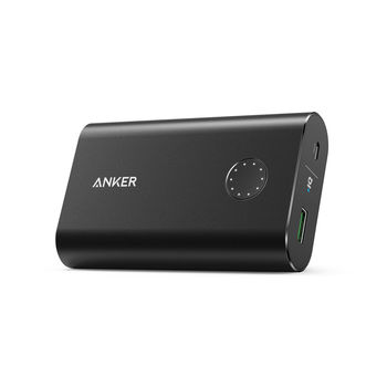 ANKER POWER BANK 10050MAH V3,  black