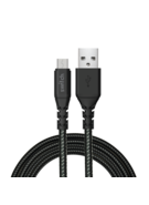 SWITCH ULTRA RUGGED USB A TO MICRO USB CHARGE & SYNC 1.2M CABLE BLACK