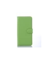 SAMSUNG GALAXY S6 EDGE LEATHER WALLET,  green