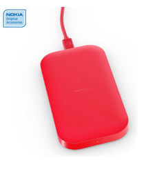 NOKIA DC50 POWERBANK 2500MAH PLUS WIRLESS CHARGER,  red