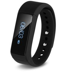 FITMATE Z1 FITNESS TRACKING HEALTH BAND,  black