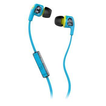 SKULLCANDY STEREO EARPHONE,  blue