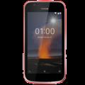 NOKIA 1 8GB DUAL SIM,  warm red