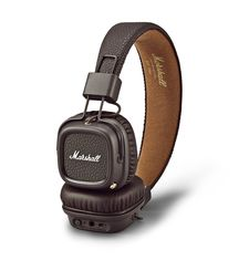 MARSHALL MAJOR II BLUETOOTH ON-EAR HEADPHONE,  brown