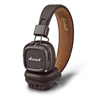 MARSHALL MAJOR II BLUETOOTH ON-EAR HEADPHONE,  black