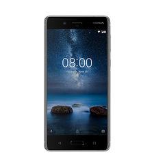 Nokia 8 64GB DUAL SIM,  steel