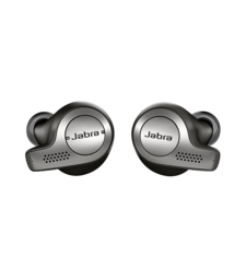 JABRA BLUETOOTH TWS STEREO HEADSET ELITE 65T,  black