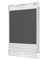 BLACKBERRY PASSPORT HARD SHELL,  white