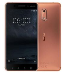 NOKIA 6 4G LTE DUAL SIM,  copper, 32gb