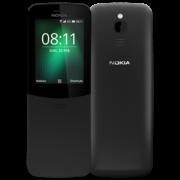 NOKIA 8110 4G DUAL SIM,  black