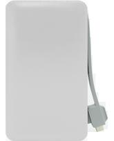 FOUR ULTRA SLIM POWER BANK T11 6000mAh,  white