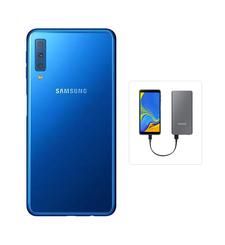 SAMSUNG GALAXY A7 2018 128GB DUAL SIM,  blue