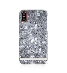 UUNIQUE IPHONE X BACK CASE GRANITE GREY MARBLE,   granite grey