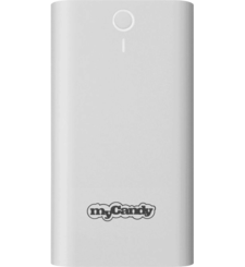 MYCANDY POWER BANK 8000MAH PB12,  white