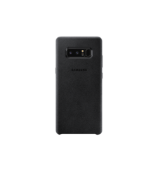 SAMSUNG GALAXY NOTE 8 ALCANTARA COVER,  black