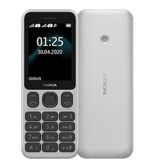 NOKIA 125 TA-1253 4MB 2G DS,  white