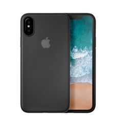 LAUT IPHONE X BACK CASE SLIMSKIN,  black