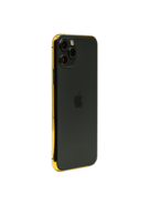 APPLE IPHONE 11 PRO MAX 256GB WITH 24K GOLD PLATED FRAME,  midnight green