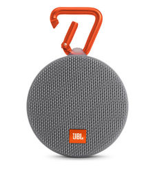JBL CLIP 2 FULL-FEATURED WATERPROOF ULTRA-PORTABLE SPEAKER,  grey