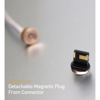 RED DOT ANDROID MAGNETIC CHARGING CABLE CONNECTOR