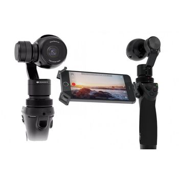DJI OSMO HANDHELD 4K CAMERA AND 3-AXIS GIMBAL,  black