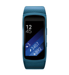 SAMSUNG GEAR FIT 2 FITNESS BAND LARGE,  blue