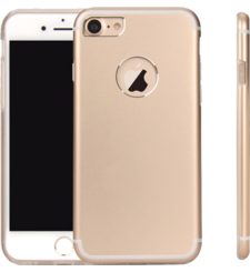 MYCANDY IPHONE 7 PLUS / 8 PLUS TITANIUM BACK CASE GOLD